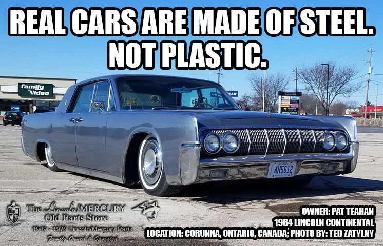 Real cars are made of steel. Not plastic.